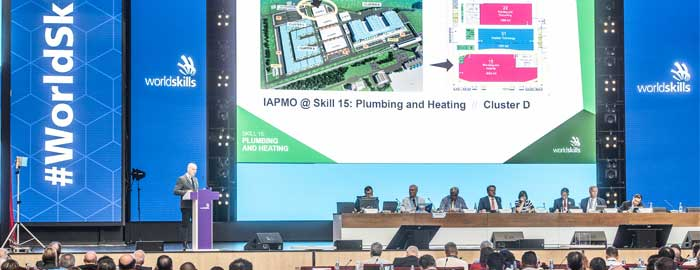 IAPMO Supports Pioneering Sustainability Initiative at WorldSkills Kazan 2019